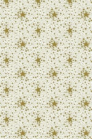 Mušema 1.4x20m  226/1 novogodišnja na zlatne zvezdice