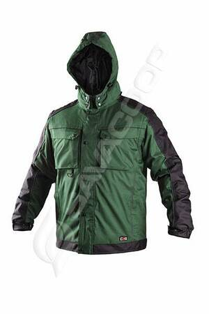 Jakna zimska 2u1 IRVINE zeleno-crna