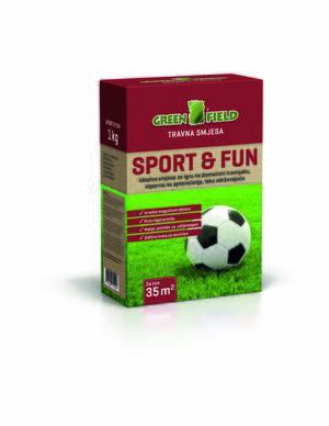 GREENFIELD Travna smeša  1kg - Sport&FUN