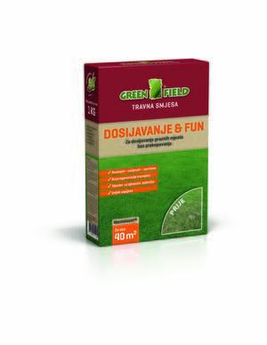 GREENFIELD Travna smeša  1kg - Dosejavanje&FUN
