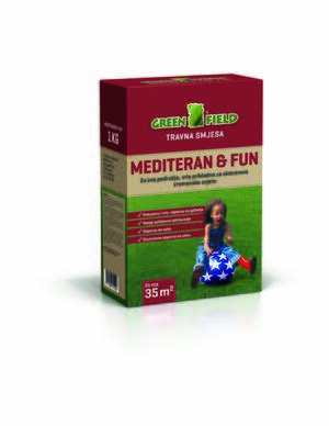 GREENFIELD Travna smeša  1kg - Mediteran&FUN
