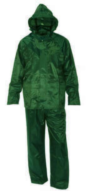 Kišno odelo šiveno PROFI zeleno