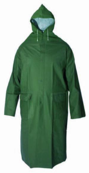 Kišna kabanica DEREK zelena